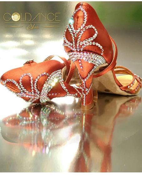 Zapato mujer de baile latino Goldance Shoes