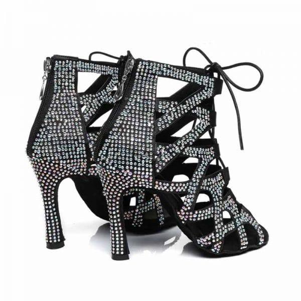 GD101D zapatos de baile latino Goldanceshoes